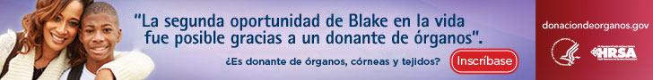 La segunda oportunidad en la vida de Blake fue posible gracias a un donante de órganos