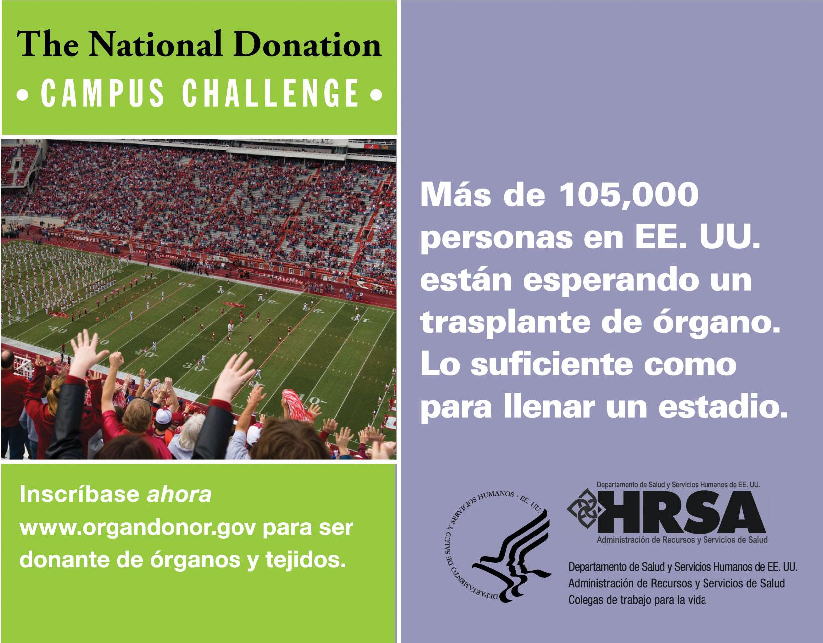 Estadio - email masivo - imagen del enlace de HRSA.