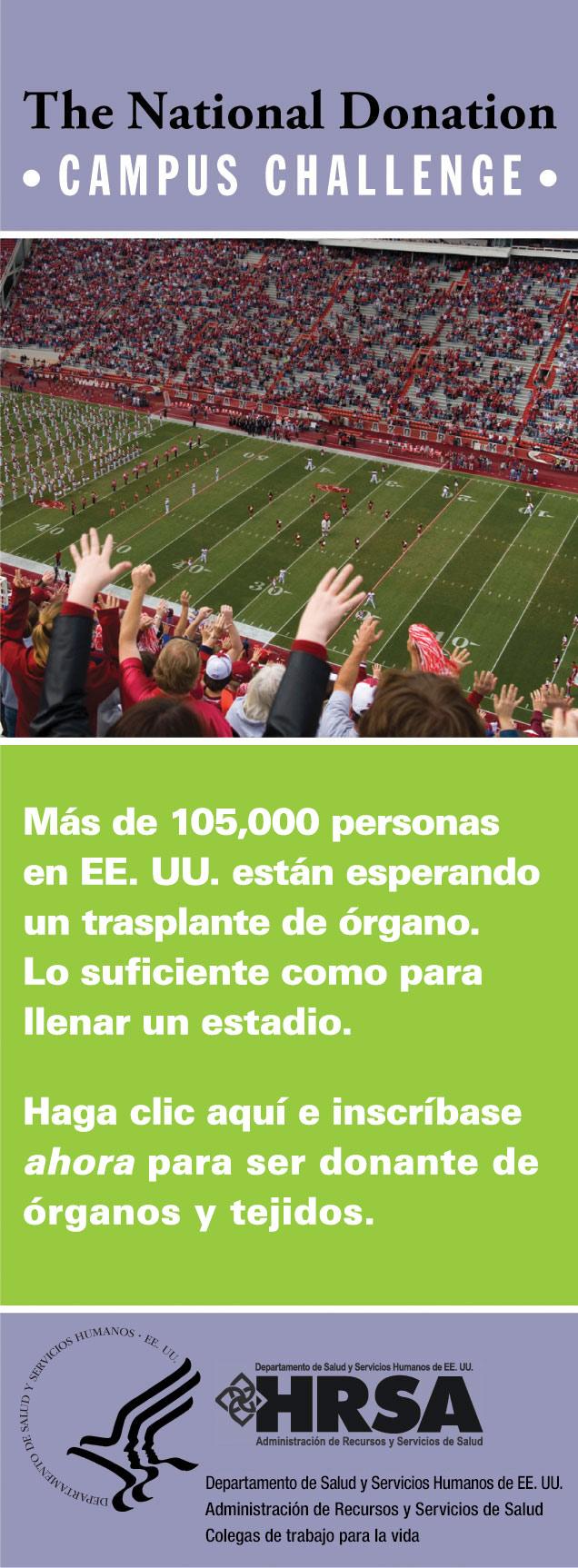 Imagen del estadio - anuncio por web - vertical - imagen de enlace a registro personalizado.