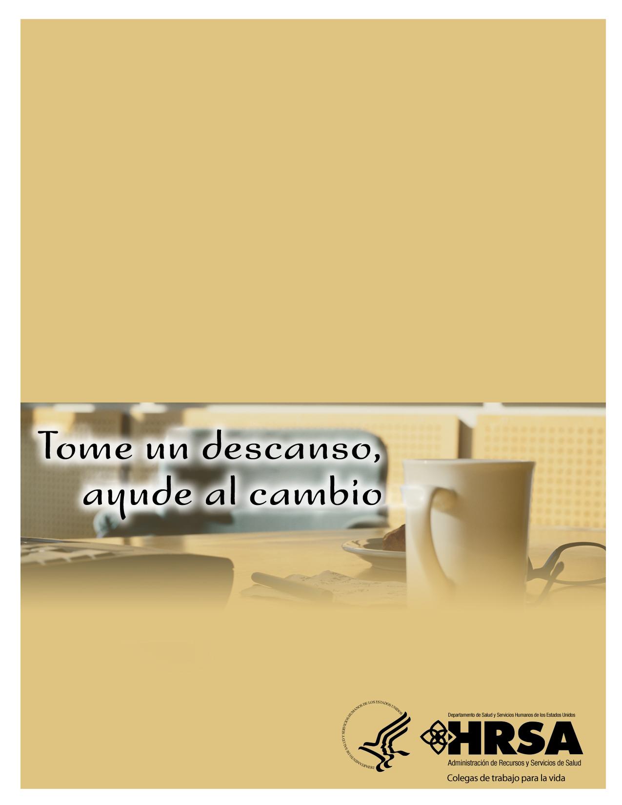 Imagen Give 5 para folleto díptico de mesa con personalización. 1275 píxeles de ancho por 1650 píxeles de alto.